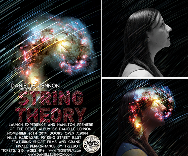 Danielle Lennon, String Theory, Album Art