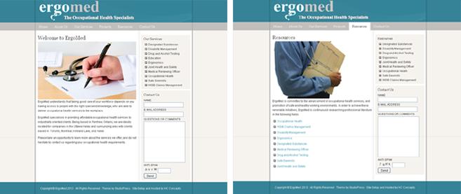 ErgoMed, Dr. E. Gardiner, Renfrew, Ontario