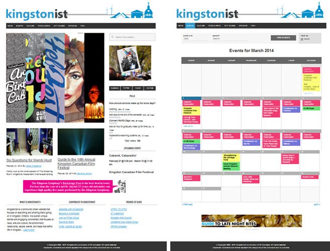 Kingstonist, blog, Kingston, Ontario